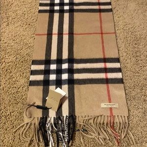 Brand new Monogrammed Burberry Scarf